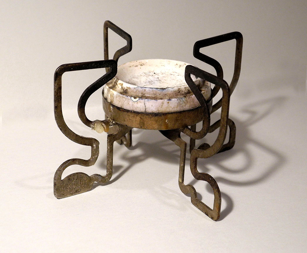 Подставка-горелка складная, для варки кофе. Начало XX века.