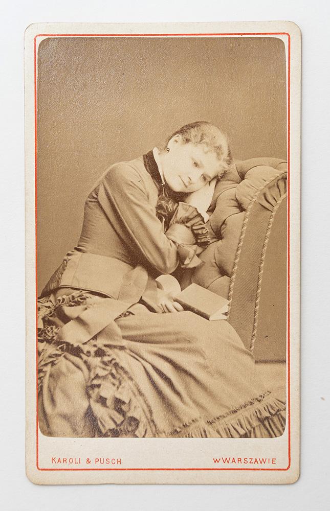 Балерина Виктория Годлевская. Возлюбленная Л.М. Слёзкина, отца писателя, в годы его молодости. 1870-е гг.