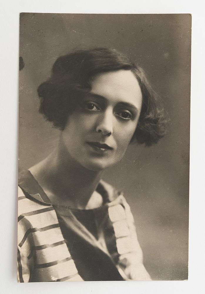 А.И. Жданович, жена Ю.Л. Слёзкина. Вторая половина 1920-х гг.