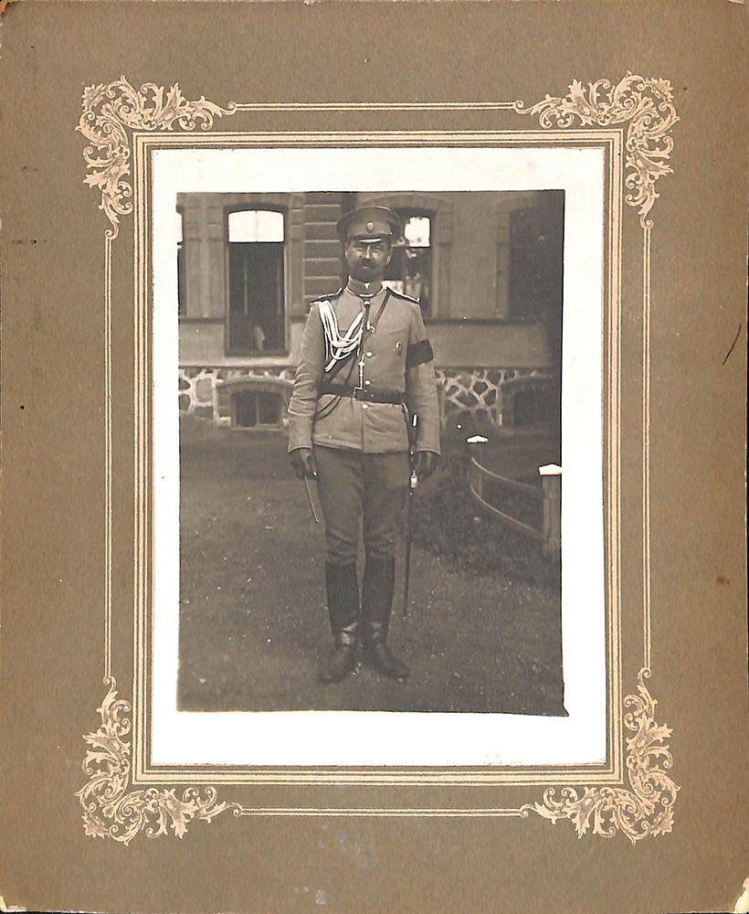 Иван Георгиевич Эрдели, генерал, дядя Ю.Л. Слёзкина [1910-1914 гг.]