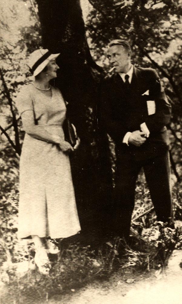 Фотография. М.А. Булгаков и Е.С. Булгакова. 1934 г.