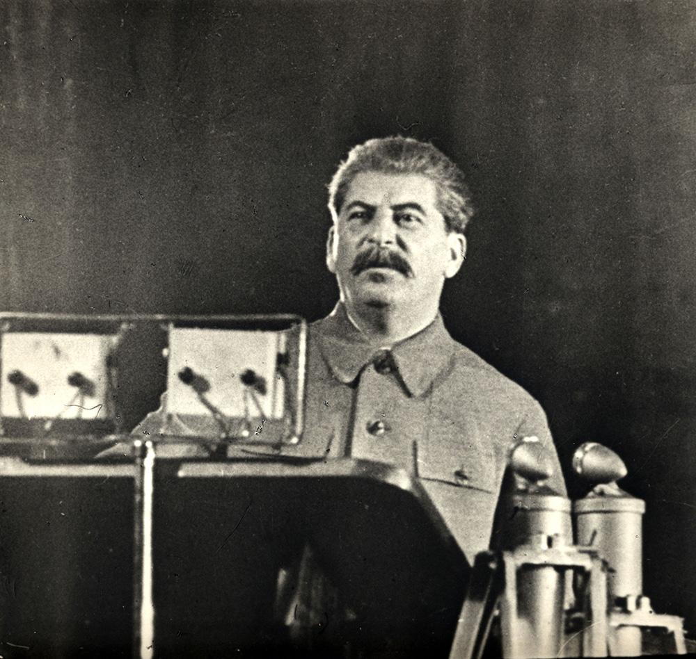 Фотография. И.В. Сталин в Большом театре. 11 декабря 1937 гг.