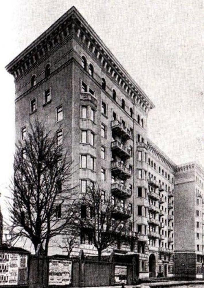 Адрес А.Ш. и М.С. Мелик-Пашаевых. Брюсовский переулок, д.7. 1930-е гг.