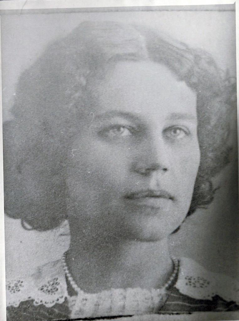 Фотокопия. Татьяна Николаевна Лаппа. С фото 1913 г.