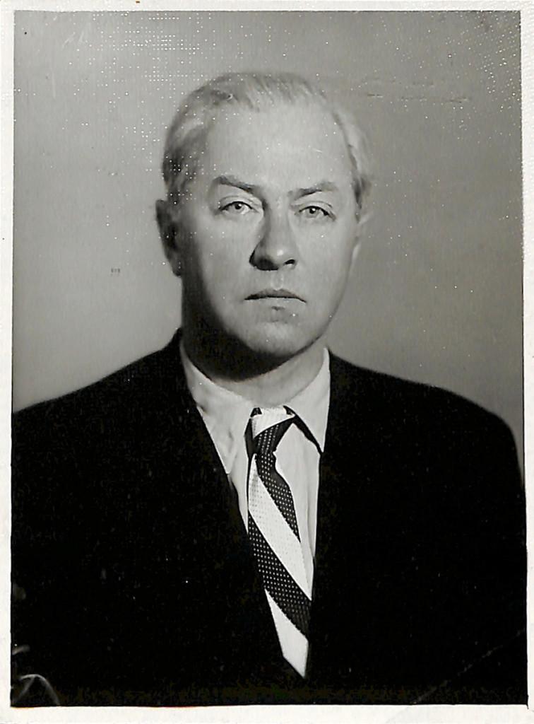 Фотография. Гайдовский Георгий Николаевич (1902-1962 гг.). 1960 г.