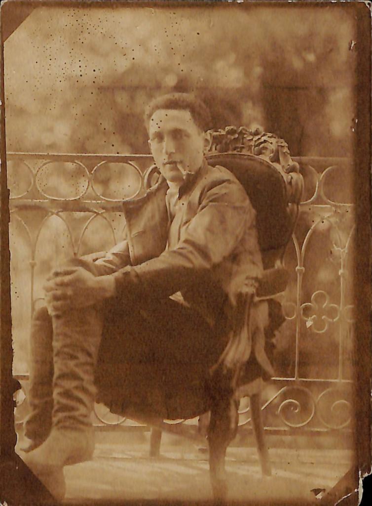 Фотография. Стонов Дмитрий Миронович. 1920 г.