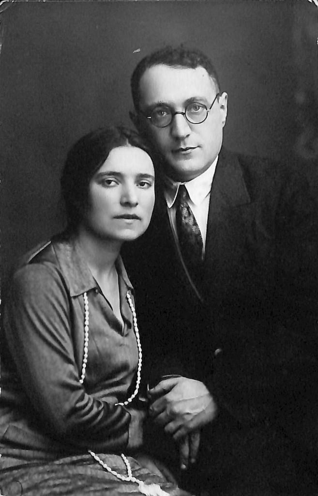 Фотография. Стонов Дмитрий Миронович и Стонова Анна Зиновьевна. 1930 г.