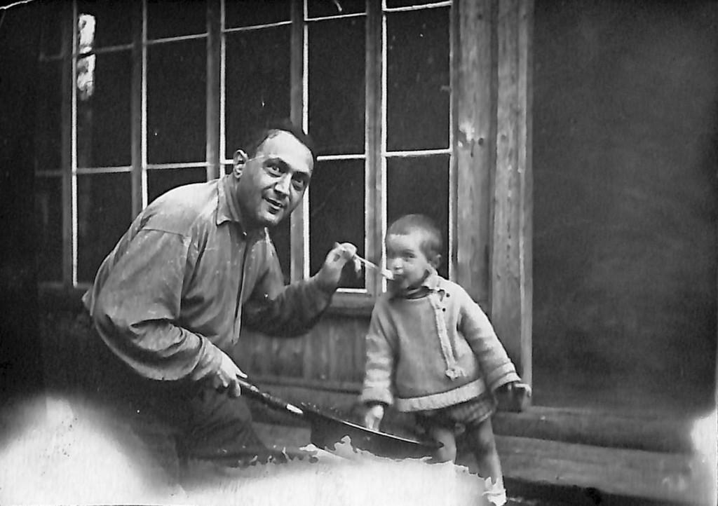 Фотография. Стонов Дмитрий Миронович и Стонов Леонид Дмитриевич. [1935 г.]