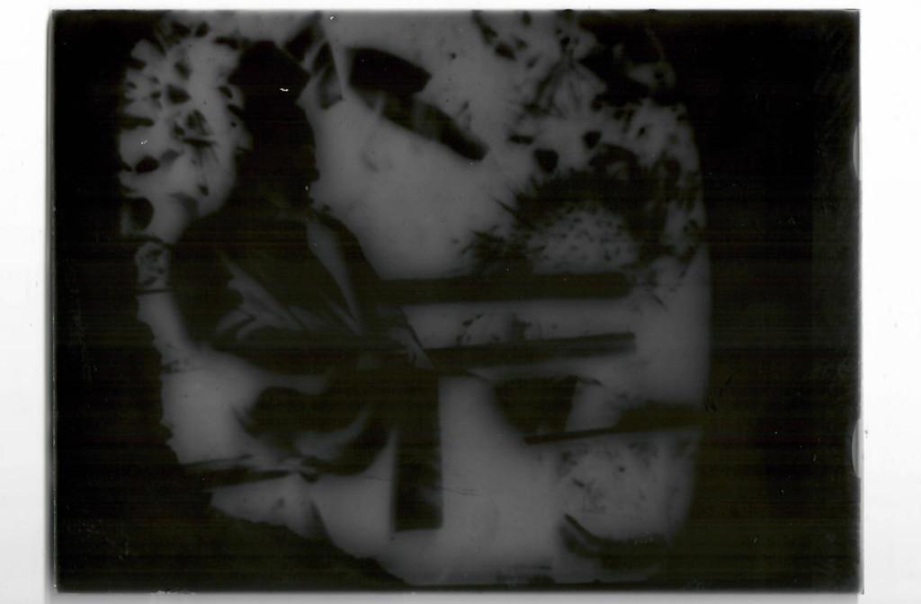 Фотопластинка. Булгаков Михаил Афанасьевич в г. Батуме. Пересъемка с фотографии конца апреля — начала мая 1928 г. Принадлежала Белозерской Любови Евгеньевне